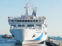 T/S SAMSUN Eğitim Gemisi Zeyport Limanı'ndan yola çıktı