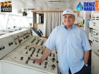 DenizHaber.TV, T/S SAMSUN Eğitim Gemisi'ni ziyaret etti