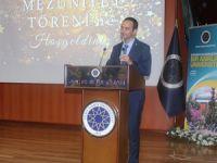 GMO Yönetim Kurulu Başkanı Salih Bostancı, YTÜ mezuniyet törenine katıldı