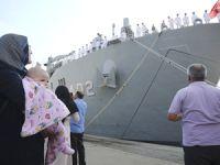Deniz Harp Okulu öğrencileri açık deniz eğitimine uğurlandı
