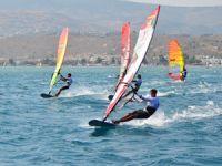 Rüzgar Sörfü Slalom Türkiye Ligi ikinci ayağı gerçekleşti
