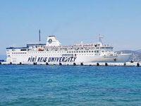 Piri Reis Üniversitesi Eğitim ve Staj Gemisi Kuşadası Limanı'nda