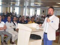 Piri Reis Eğitim Gemisi'nde kruvaziyer turizmi dersi verildi