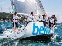 Deniz Kızı Ulusal Kadın Yelken Kupası'nda ilk günün kazananları belli oldu