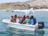 Sahil kenti Kocasinan'da gemi ehliyeti sınavı yapıldı