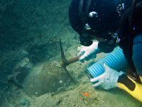 Urla'da su altı arkeoloji parkı oluşturulacak