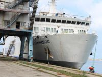 Piri Reis Eğitim Gemisi HOPAPORT'a demir attı