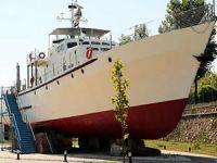 Sahil Güvenlik gemisi 'TCSG 124', eğitim gemisi oldu