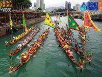 Hong Kong Dragon Tekne Festivali'nden renkli görüntüler
