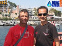 Romanyalı profesör Kano ile İstanbul'a geldi