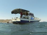 İlk arkeolojik araştırma teknesi, Urla'da hizmete alındı
