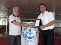 T/S SAMSUN Eğitim Gemisi Erdemir Limanı'na yanaştı