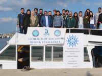 Gemlik Denizcilik Topluluğu öğrencilere limanları tanıttı