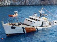 Alanya'da dalış turizmi için Sahil Güvenlik gemisi batırıldı