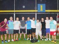 Türk Denizciler Dubai'deki birlikteliklerini futbol ile güçlendiriyor