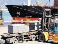 Mermerciler, konteyner krizini açık gemi taşımacılığı ile aştı