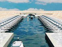 Efes antik kentine kanal için 1620 beton kazık çakılıyor