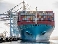 Maersk konteyner gemisi yeni bir rekora imza attı