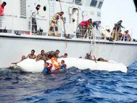 Akdeniz'de kurtarma operasyonunda 5 göçmen hayatını kaybetti