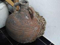 Karamürsel'de balıkçıların ağına Bizans dönemine ait amfora takıldı