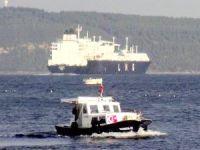 Çanakkale Boğazı'ndan 'M/T Ougarta' adlı tanker geçti