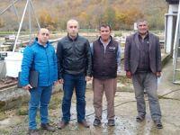 Alabalık üretim tesisi sahiplerine hibe desteği anlatıldı