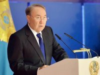 Nursultan Nazarbayev: Kazakistan üzerinden konteyner taşımacılığı 1.8 kat arttı