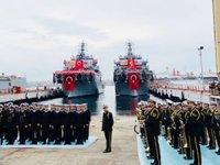 'TCG AKIN' Deniz Kuvvetleri Komutanlığı'na teslim edildi