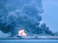 M/T SANCHI tankerinde yangın söndürülemedi