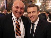 Yüksel Yıldırım, Yatırımcılar Zirvesi'nde Fransa Cumhurbaşkanı Macron ile görüştü