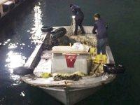 Yalova'da deniz polisi kaçak midye avlayanları yakaladı