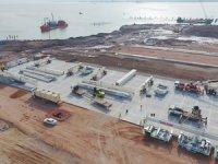 Safiport Derince'de yatırımlar son sürat devam ediyor, 'RTG kurulumu' başladı