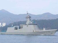 Güney Kore Donanması, ilk FFX-II sınıfı fırkateynı teslim aldı