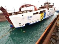 Akdeniz'in ilk LNG ile çalışan feribotu Sefine Tersanesi'nden