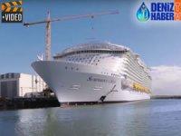 STX Tersanesi, 'M/S SYMPHONY OF THE SEAS'ın inşasına devam ediyor
