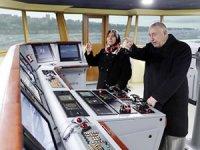 Piri Reis Üniversitesi'nde gemi simülatörü kullandılar