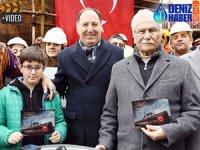 Atatürk'ün tarihi sözlerine sahne olan Kartal istimbotuna 7'den 70'e bağış