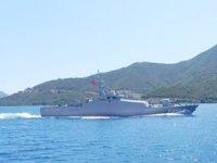 Doğu Akdeniz'de deniz eğitimleri tamamladı