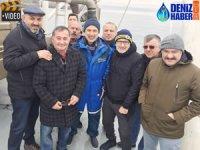 Metin Kalkavan ve ekibi balıkçıların sorularını yanıtladı