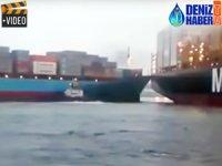 LAURA MAERSK, Callao Limanı'nda 'MSC SHUBA B'ye çattı