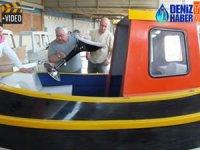 Burhaniye'de 40 yıllık tekne ustası 'tugboat' yapımına başladı