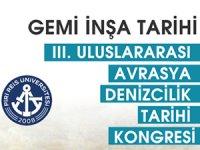 3. Uluslararası Avrasya Denizcilik Tarihi Kongresi Tuzla'da yapılacak