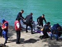 Manavgat Irmağı'nda arama çalışmaları devam ediyor