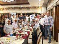 DEFMED üyeleri, iftar yemeğiyle bir araya geldi
