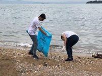 TURMEPA Gönüllüleri ve deniz severler kıyılara akın etti