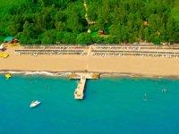 Turistlerin tercihi 'Mavi bayraklı' plajlar oluyor