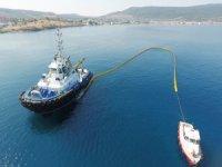 Uzmar, Etki Liman Aliağa LNG Terminali'nde deniz kirliliği tatbikatı yaptı