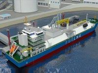 Güneydoğu Asya'nın ilk bunker gemisi inşa ediliyor