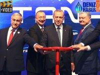 Trans Anadolu Doğalgaz Boru Hattı, törenle açıldı