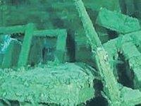 Kırım'da batık gemiden tarihi eserler çıktı